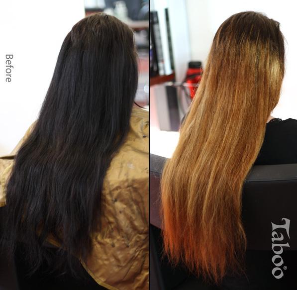 Balayage Highlighting Karori Hairdresser